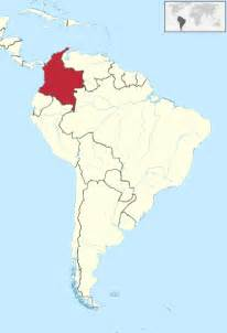 maps of colombia south america file colombia in south america svg