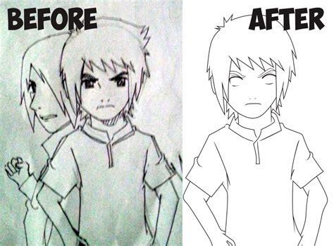 tutorial membuat line art vector tutorial vector membuat karakter anime sendiri
