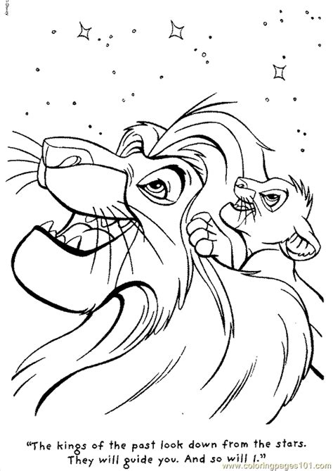 lion king coloring pages free online coloring pages lion 07 cartoons gt the lion king free