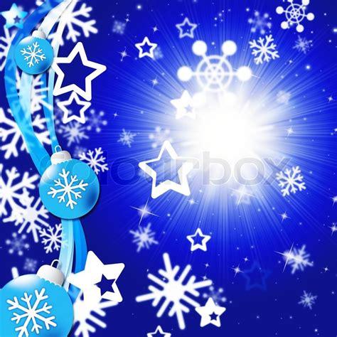 imagenes lindas para navidad blue snowflakes background showing bright sun and snowing
