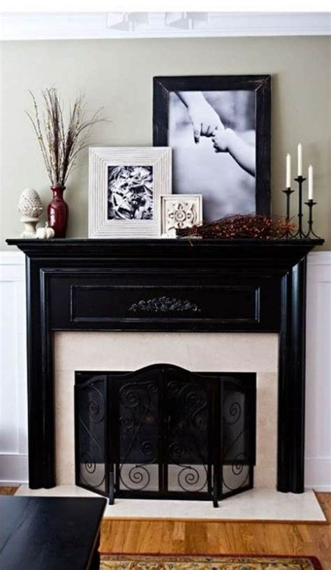 Decorated Fireplace Mantels For by Best 25 Fireplace Mantel Decorations Ideas On