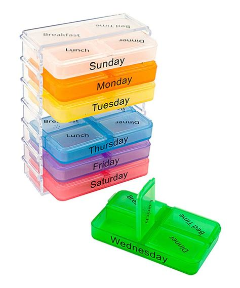 6 Section Pill Organizer by Best 25 Pill Organizer Ideas On Travel Organization Pill Box Organizer And Pill Boxes