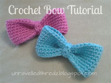 free crochet bow pattern crochet small bow bing images crochet pinterest