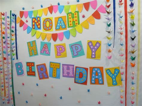 Birthday Wall Decorations by Birthday Wall Decorations Images Image Inspiration Of