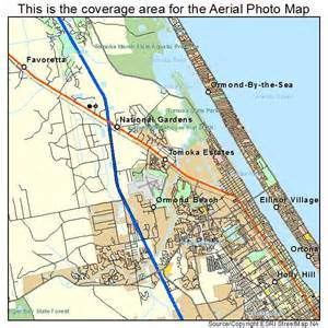 ormond florida map aerial photography map of ormond fl florida