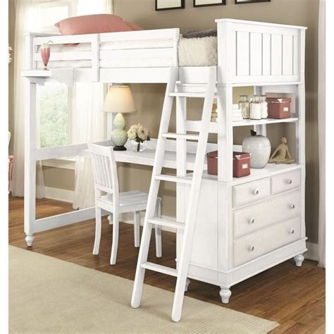 Kid Loft Bed With Desk Best 25 Loft Bed Ideas On Pinterest Size Loft Bed Loft Beds For Small Rooms And