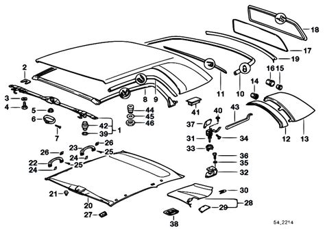 original parts for e36 323i m52 cabrio sliding roof