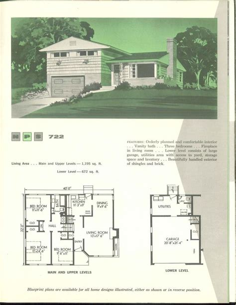 1960s house plans 220 best images about vintage house plans 1960s on