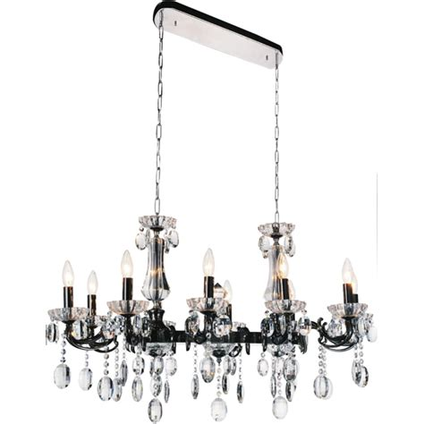 Linear Candle Chandelier Brizzo Lighting Stores 54 Quot Ottone Traditional Candle Linear Black Chandelier 14 Lights