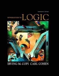 logic a introduction introductions books books on logic a class room introduction to logic