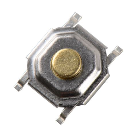 Tactile Push Button Switch 4 Pin Model B 100 pcs 4 4 1 5mm tactile push button switch tact micro switch 4 pin smd ve144 p0 5 in switches