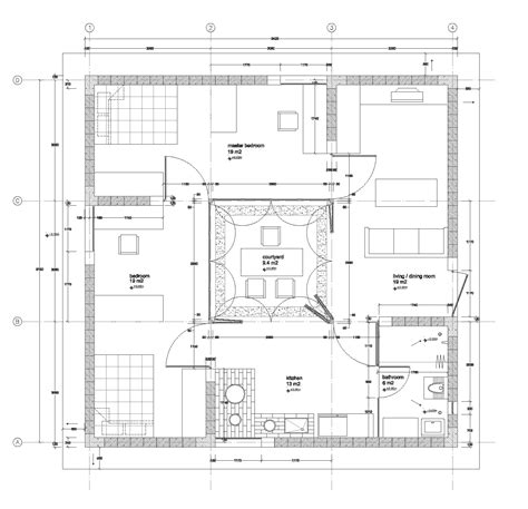 Energy Efficient Homes Floor Plans gallery of 1k house pinwheel house ying chee chui 8