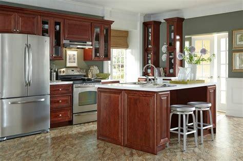 B Jorgsen Cabinets by B Jorgsen Co St Mahogany Kitchen Cabinets