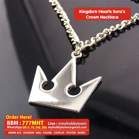 Kalung Choker Crown 6902 kingdom hearts items at my hobby town anime cross stitch and hobby accessories