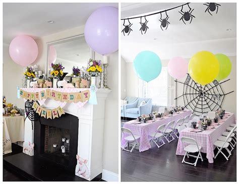 karas party ideas charlottes web inspired birthday party