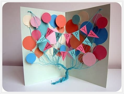 Creative Handmade Birthday Cards - 30 cool handmade card ideas for birthday and