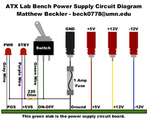 atx lab bench power supply circuit diagram flickr