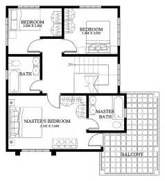 Small Modern Floor Plans by Modern House Design 2012004 Second Floor Pinoy Eplans