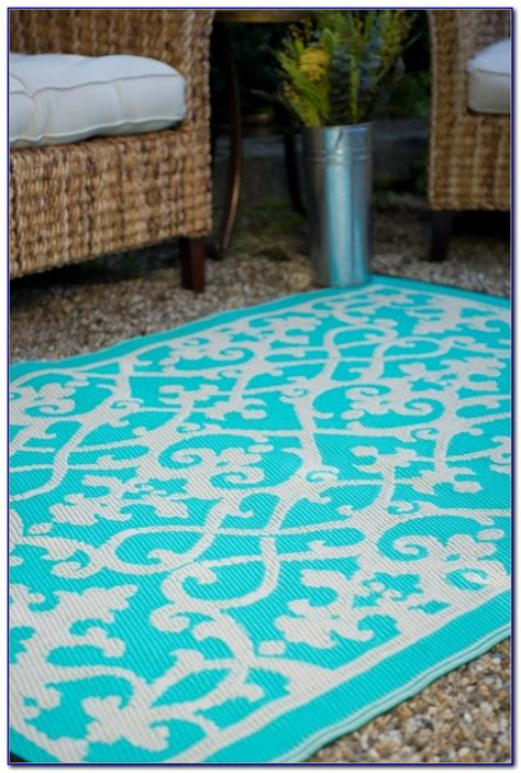 Turquoise And Brown Outdoor Rug Rugs Home Decorating Turquoise Outdoor Rug