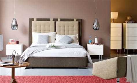 bett dachschräge schlafzimmer einrichten grau