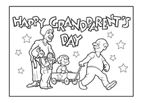 grandparents day coloring pages preschool grandma and grandpa day at daycare cakecentral com