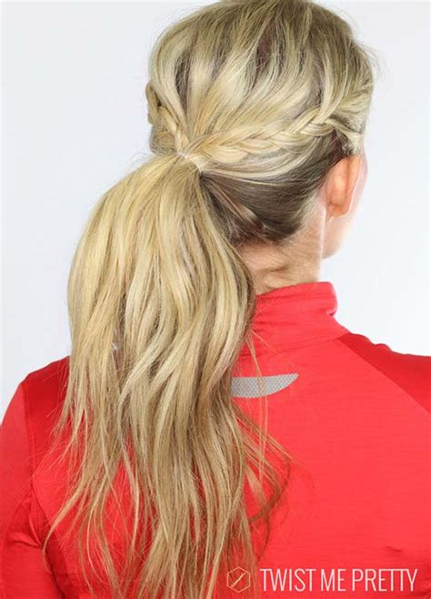 Work Out Hairstyles by Top 40 Best Sporty Hairstyles For Workout Fashionisers