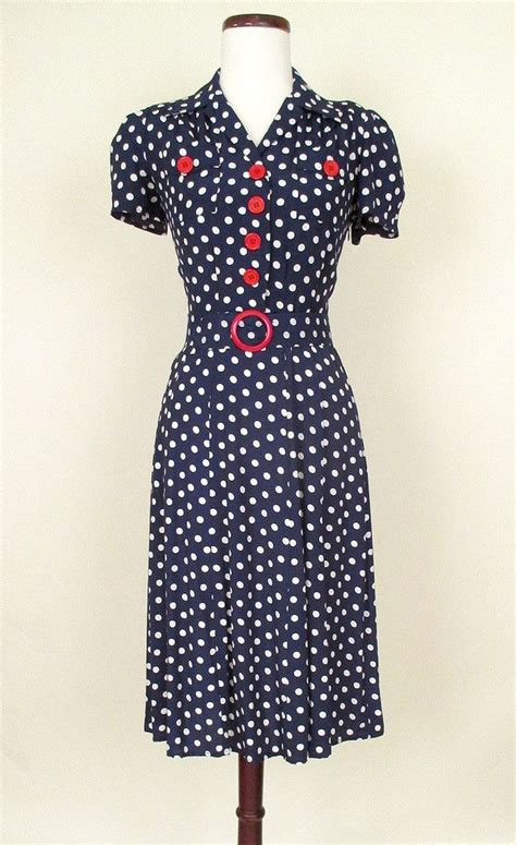 30s swing dress 1940s style retro reproduction swing dress late 30s wwii