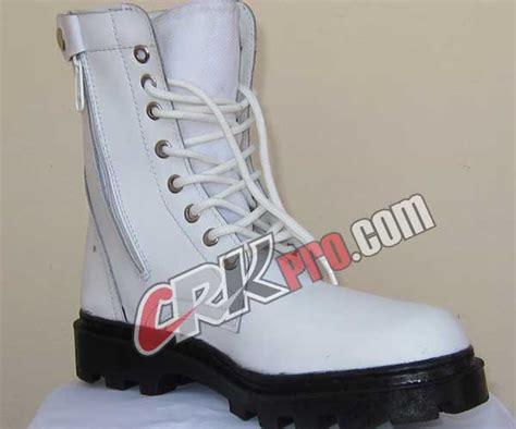 Sepatu Boot Petani sepatu drumband marching band pdl putih tni polisi militer