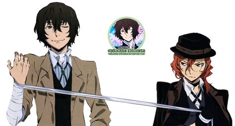 bungou stray dogs chuuya render dazai chuuya bungou stray dogs 5 by ginkochan ediciones on deviantart
