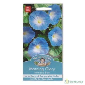 Benih Bunga Mr Fothergills Import Nigella In A Mist benih morning heavenly blue 45 biji mr fothergills bibitbunga