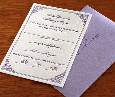 letterpress wedding invitations ireland new celtic seaside wedding invitation