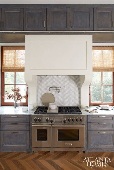 Weathered Gray Kitchen Cabinets Gray Distressed Kitchen Cabinets Contemporary Kitchen Atlanta Homes Lifestyles Home
