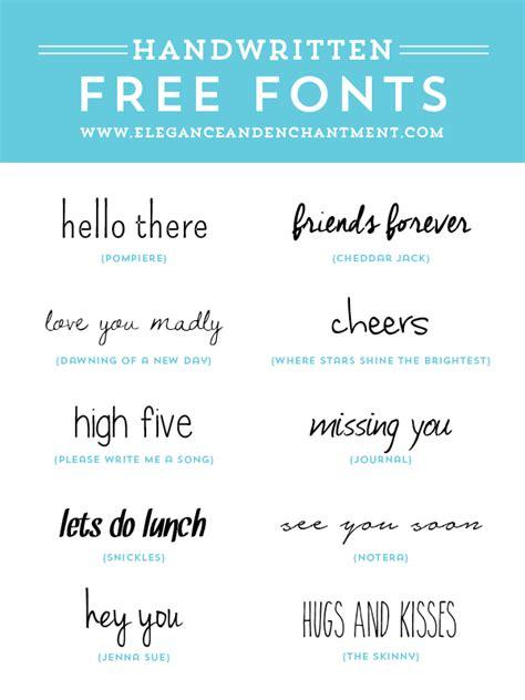 best free handwriting fonts free handwritten fonts