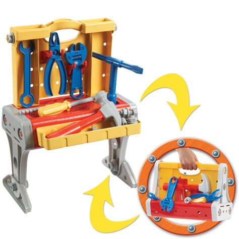 bob the builder work bench bob the builder transforming workbench toys thehut com