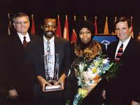 Ben carson and wife candy with bob andringa and blair dowden at the