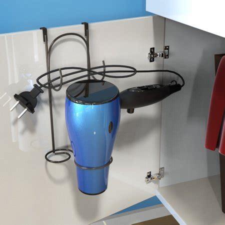hair dryer holder overthecabinet door hanging caddy