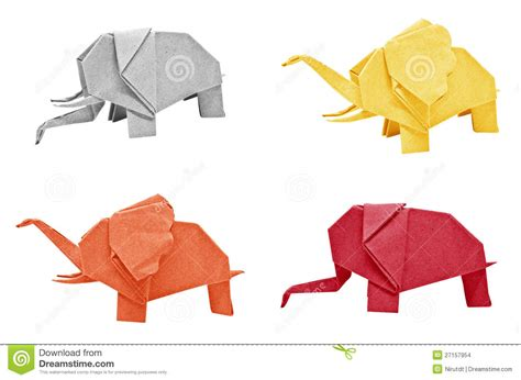 Origami Elephant Tutorial - origami elephant image collections craft