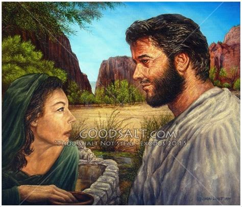 jesus is the living water woman at the well living water jesus and woman at well