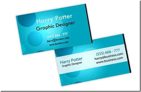 hp template a collection of free creative psd business card templates