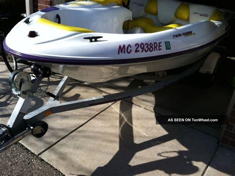 1996 sea doo speedster bombardier - 1996 Seadoo Bombardier Boat