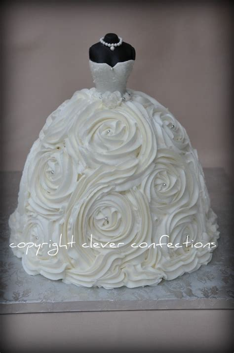 Wedding Shower Cakes by 25 Best Ideas About Wedding Dress Cake On Dress Cake Bridal Shower Cakes And