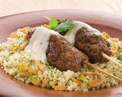 Easy Dinner Party Main Dishes - greek style lamb koftas food in a minute