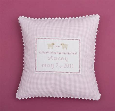 Customized Baby Pillows by Ela Baby Pillows Personalized Baby Gifts