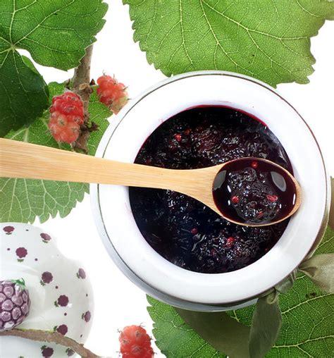 mulberry jam recipe dishmaps