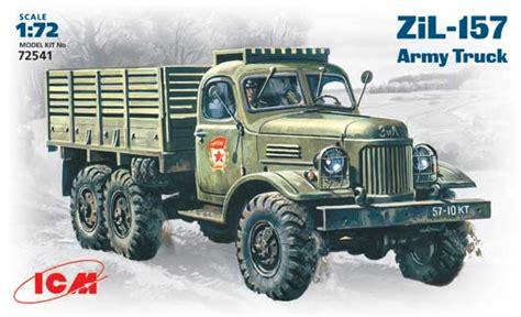 trucks of the soviet union the definitive history books zil 157 soviet army truck icm 72541