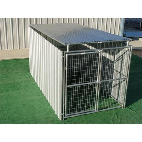 Large Shed Row Style Outdoor Dog Kennels for Sale Multi