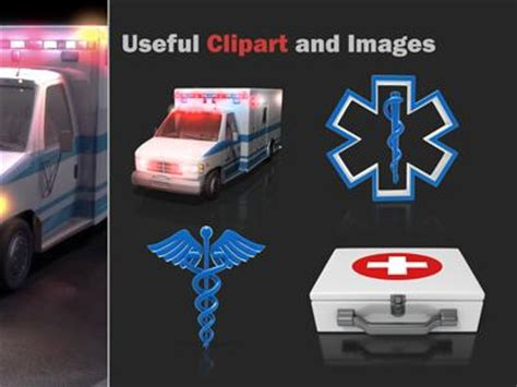 ambulance powerpoint template ambulance flash a powerpoint template from