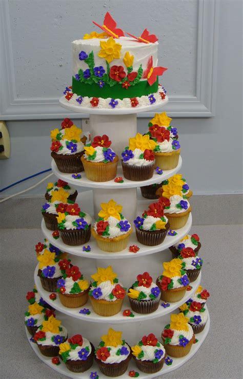 Flower Garden Cake Pinterest Flower Garden Cake And Cupcakes Cupcakes Pinterest