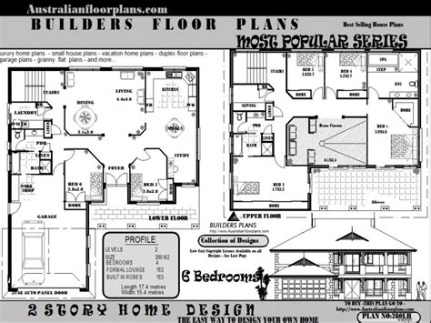 6 bedroom floor plan 6 bedroom house floor plans 5 bedroom house federation