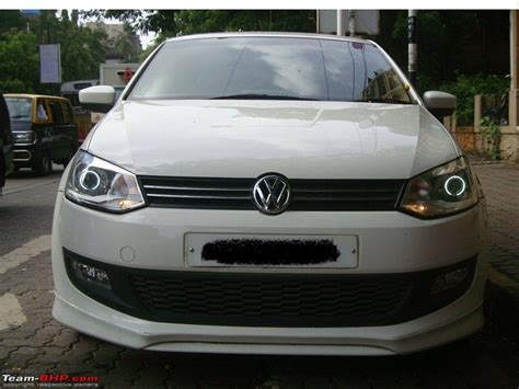 Volkswagen Polo Headlights Modified
